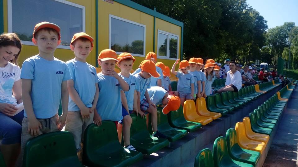 Sportowa Olimpiada Przedszkolaków Przylądek radości